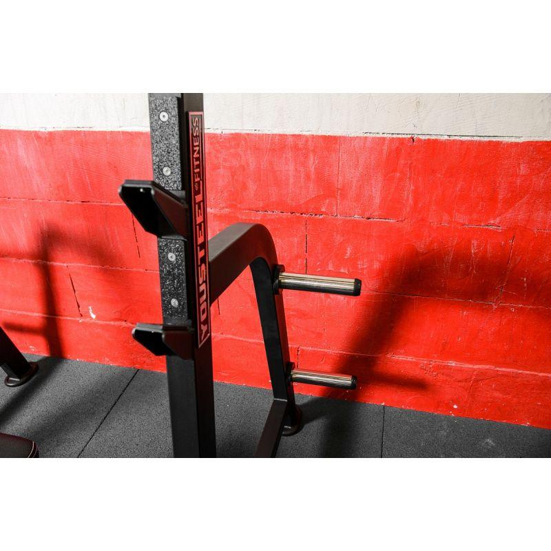 Фотография Олимпийская горизонтальная скамья для жима 7