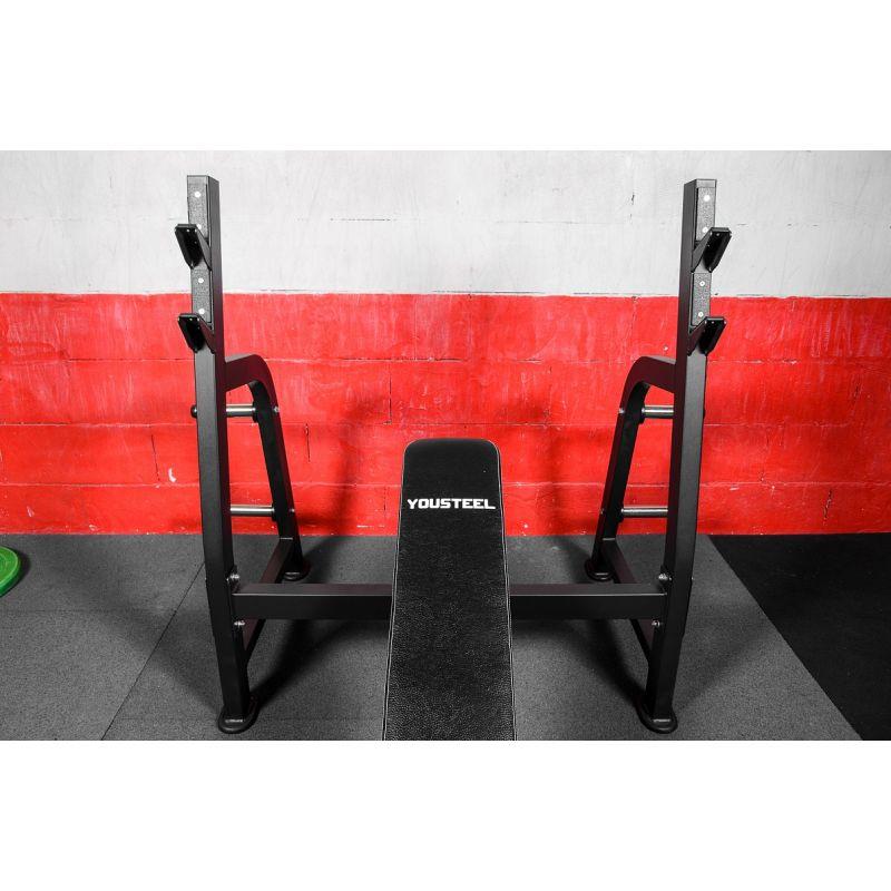 Фотография Олимпийская наклонная скамья для жима 4