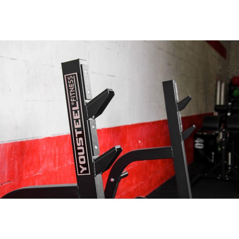 Фотография Олимпийская наклонная скамья для жима 5