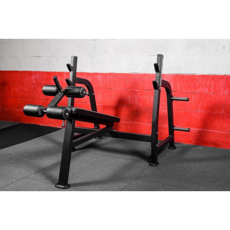Фотография Олимпийская скамья для жима с отрицательным углом 0