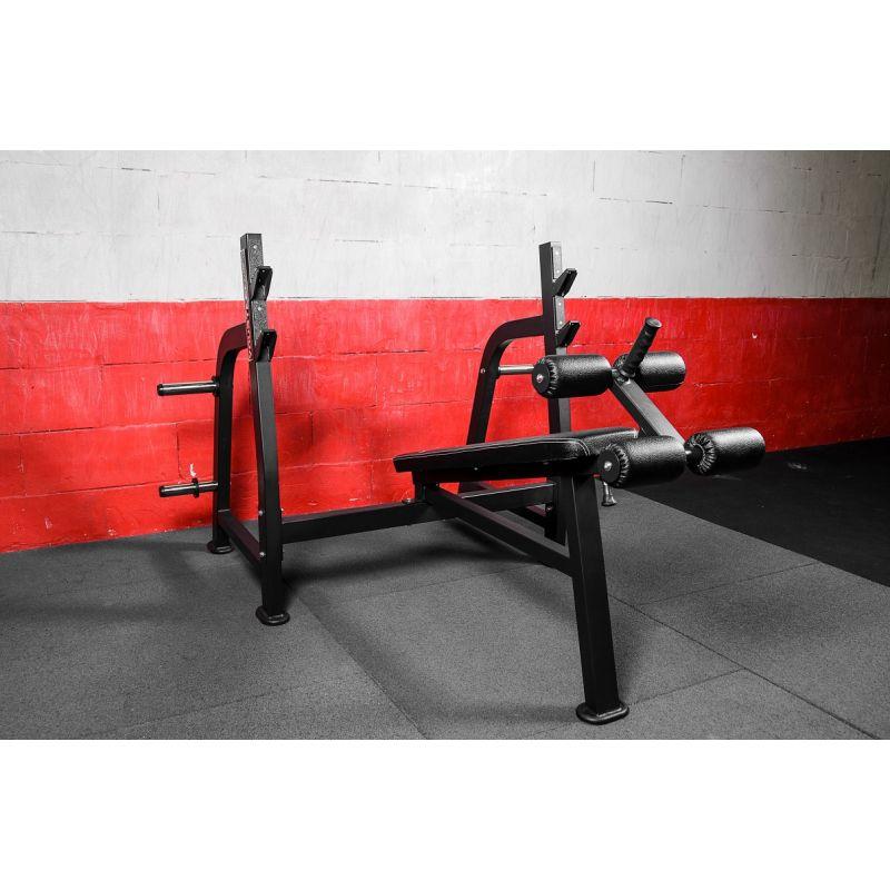 Фотография Олимпийская скамья для жима с отрицательным углом 1