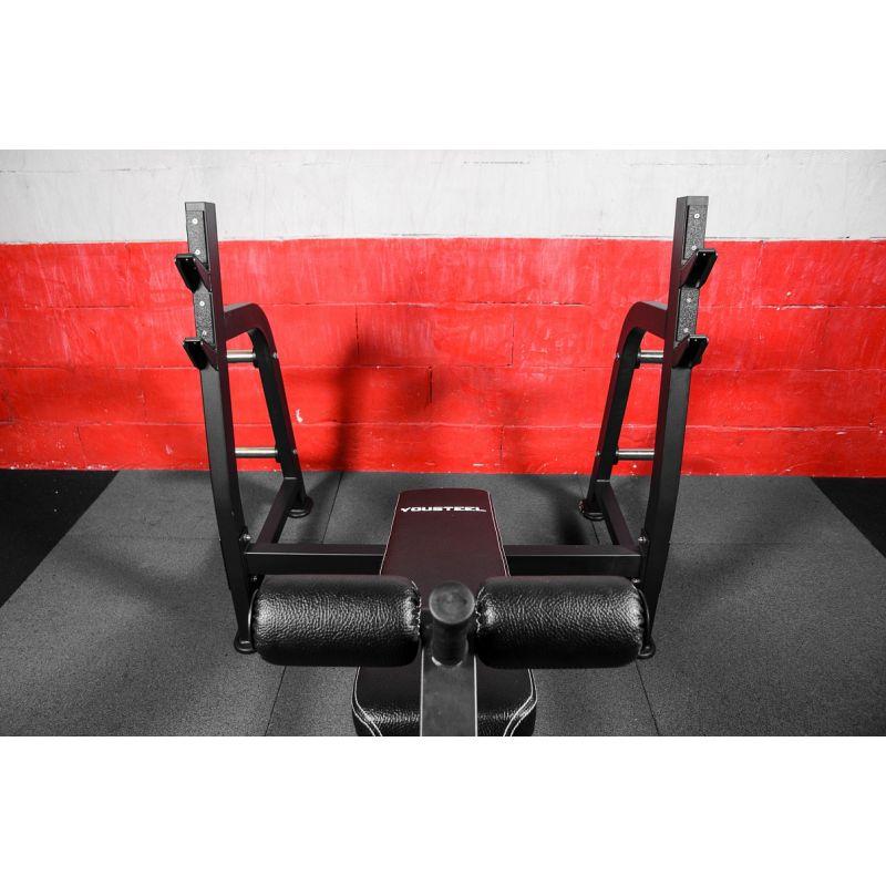 Фотография Олимпийская скамья для жима с отрицательным углом 4