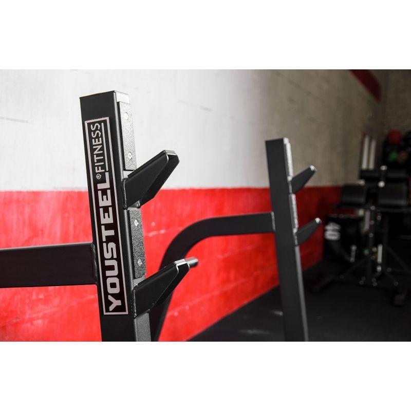 Фотография Олимпийская скамья для жима с отрицательным углом 5