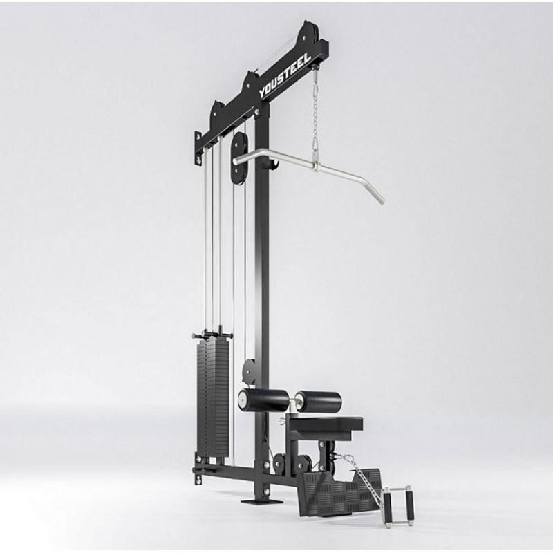 Фотография Верхняя и нижняя тяга, блочный тренажер (вес стека 136 кг) 0
