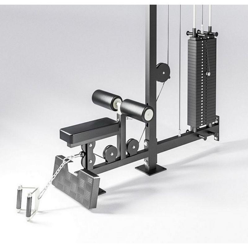 Фотография Верхняя и нижняя тяга, блочный тренажер (вес стека 136 кг) 1