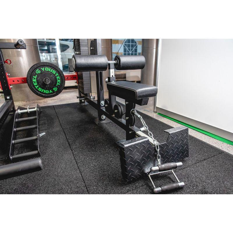 Фотография Верхняя и нижняя тяга, блочный тренажер (вес стека 136 кг) 6