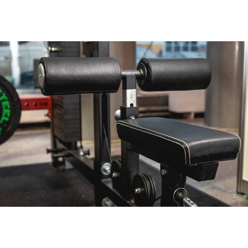 Фотография Верхняя и нижняя тяга, блочный тренажер (вес стека 136 кг) 7