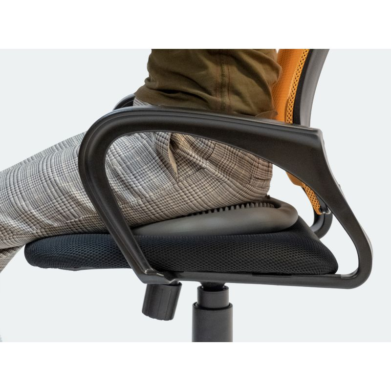 Фотография Массажно-балансировочная подушка с ручкой 10
