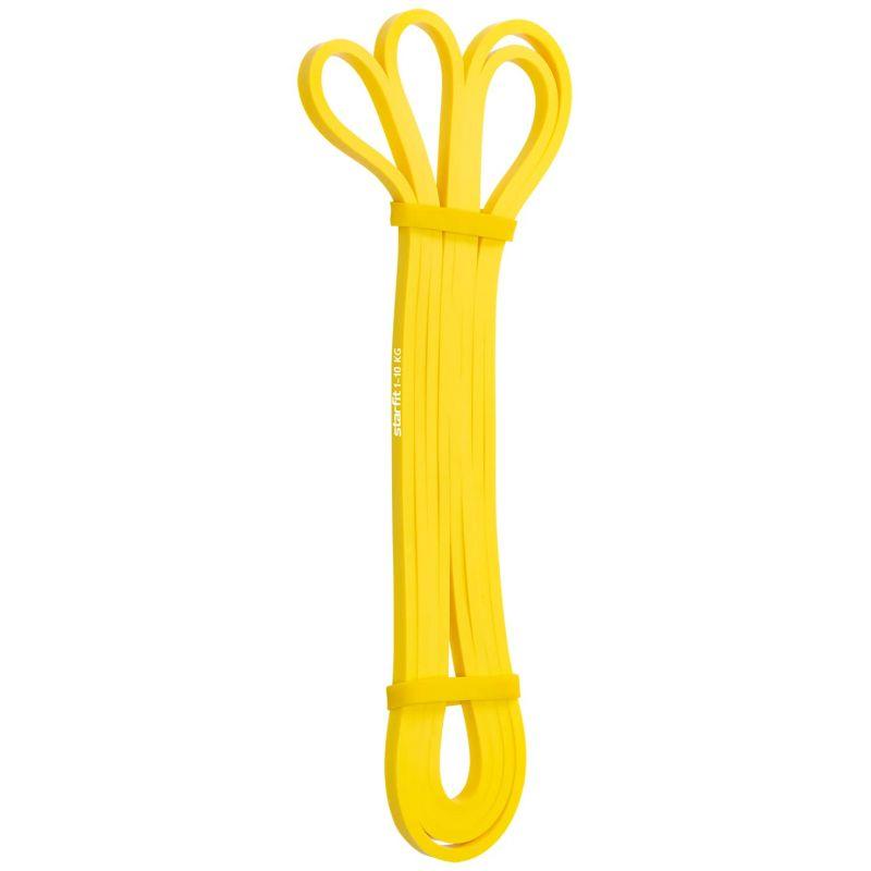 Фотография Эспандер многофункциональный ES-802 ленточный, 1-10 кг, 208х0,64 см, желтый 0