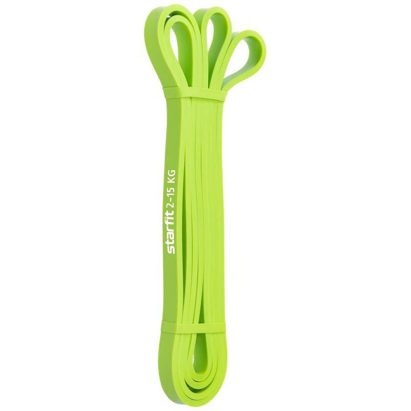 Фотография Эспандер многофункциональный ES-802 ленточный, 2-15 кг, 208х1,3 см, зеленый 0