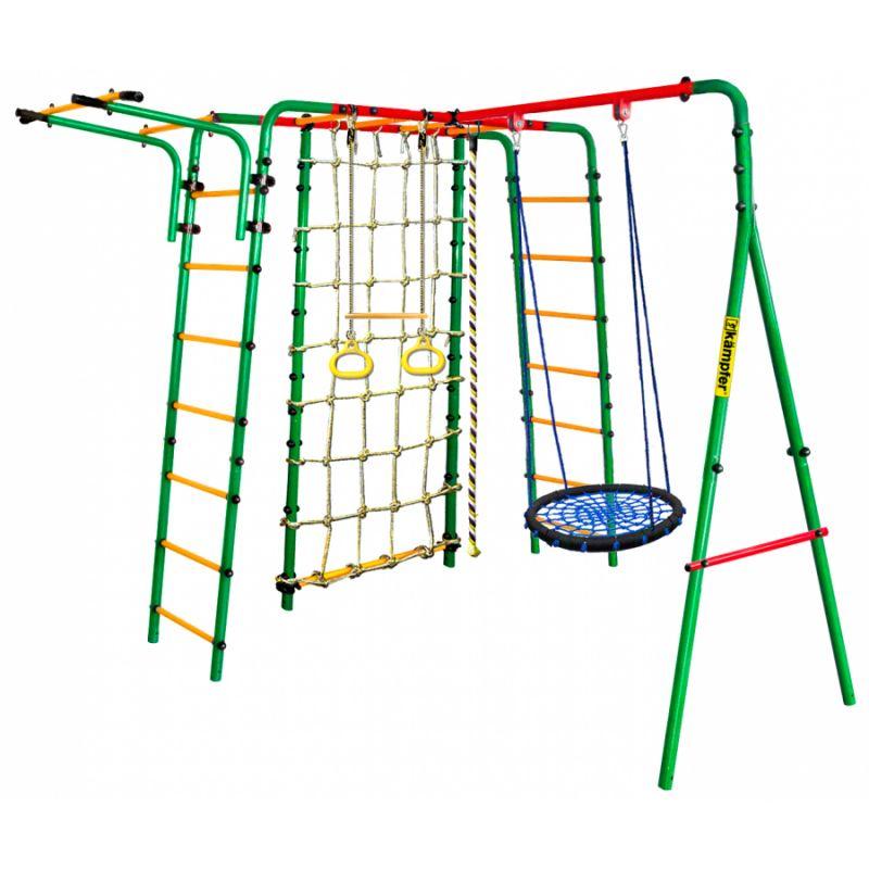 Фотография Уличный детский спортивный комплекс Kampfer Kindisch (Гнездо большое зеленое) 1