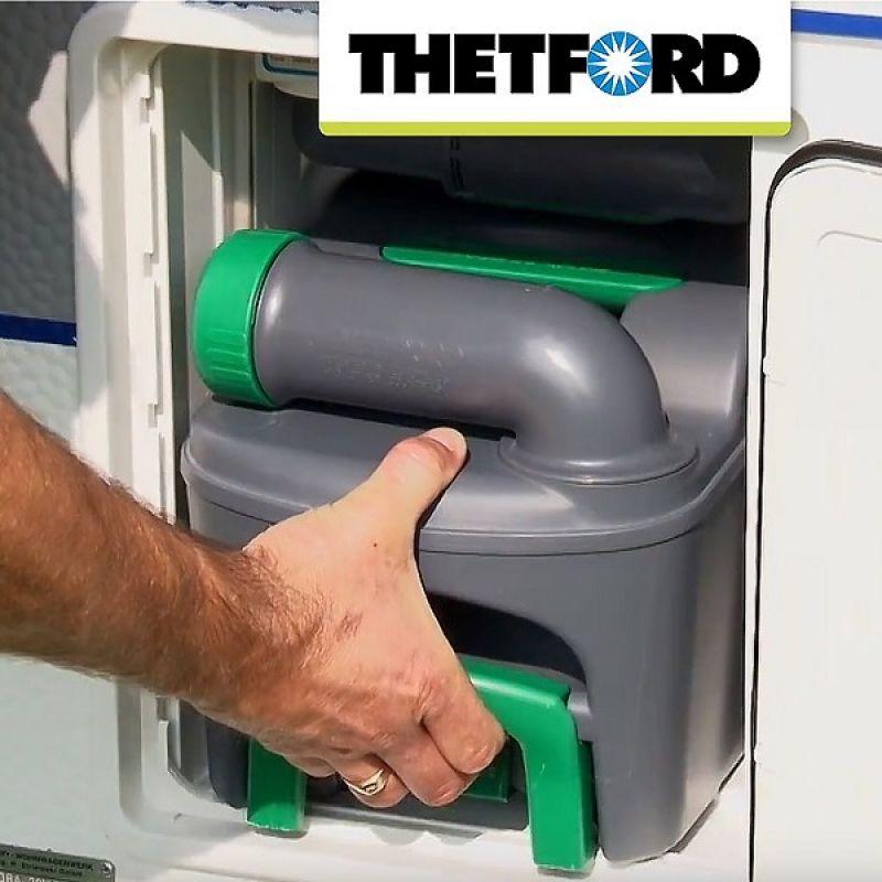 Фотография Биотуалет Thetford Cassette C402-X Left жидкостной 2