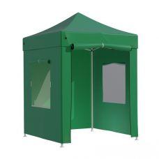 Миниатюра Тент-шатер быстросборный Helex 4220 2х2х3 м полиэстер зеленый 0  мини