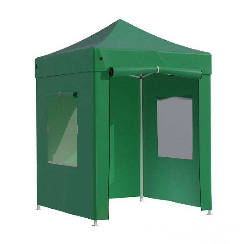 Фотография Тент-шатер быстросборный Helex 4220 2х2х3 м полиэстер зеленый 0