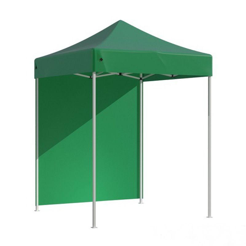 Фотография Тент-шатер быстросборный Helex 4220 2х2х3 м полиэстер зеленый 1
