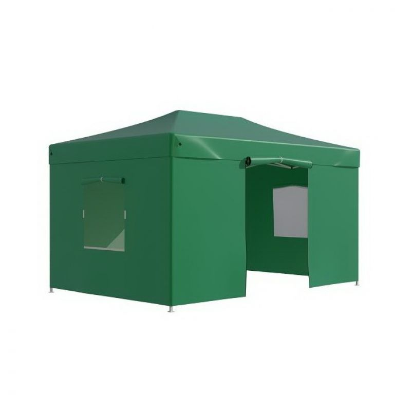 Фотография Тент-шатер быстросборный Helex 4335/4336 3x4,5х3 м полиэстер 5