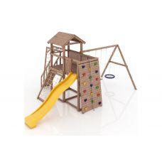 Миниатюра Деревянная детская площадка Мадрид 0  мини