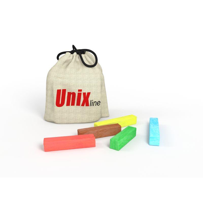 Фотография Мелки для рисования на батуте UNIX line (5 шт.)  0