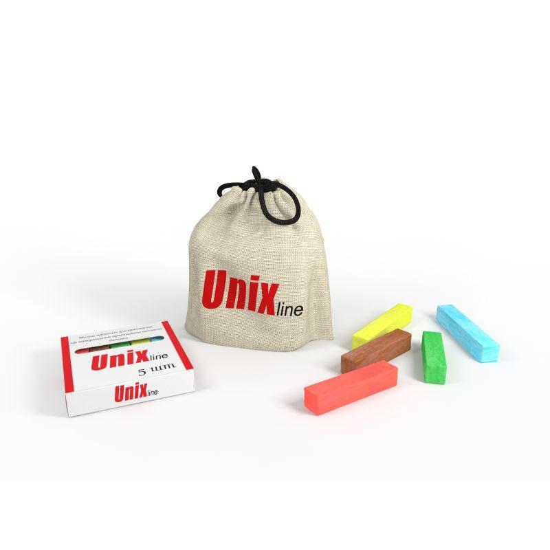 Фотография Мелки для рисования на батуте UNIX line (5 шт.)  1