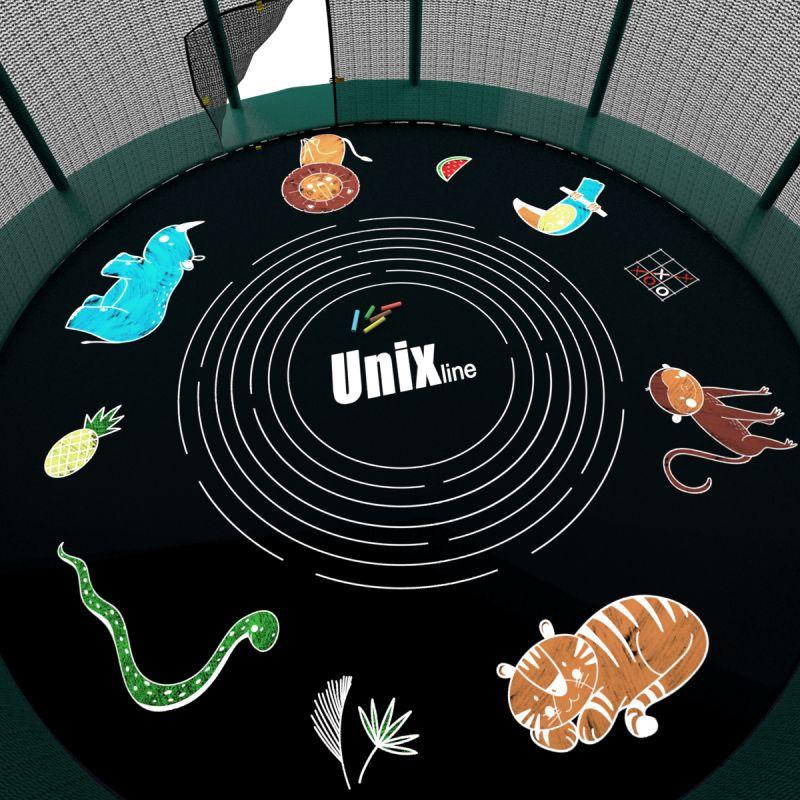 Фотография Мелки для рисования на батуте UNIX line (5 шт.)  2