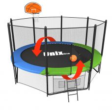 Миниатюра Баскетбольный щит для батута Unix line Classic/Simple  0  мини