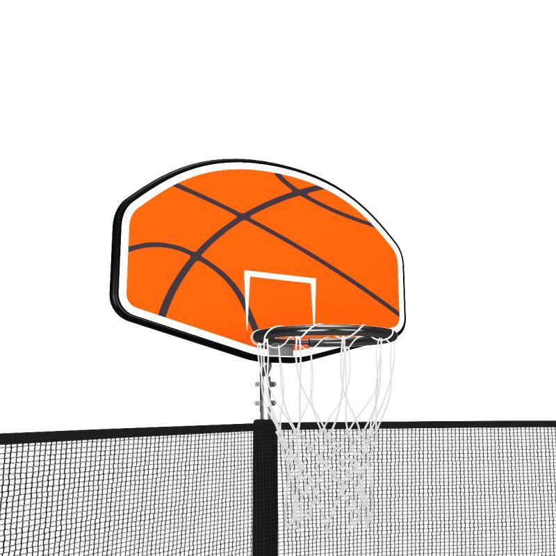 Фотография Баскетбольный щит для батута Unix line Classic/Simple  1
