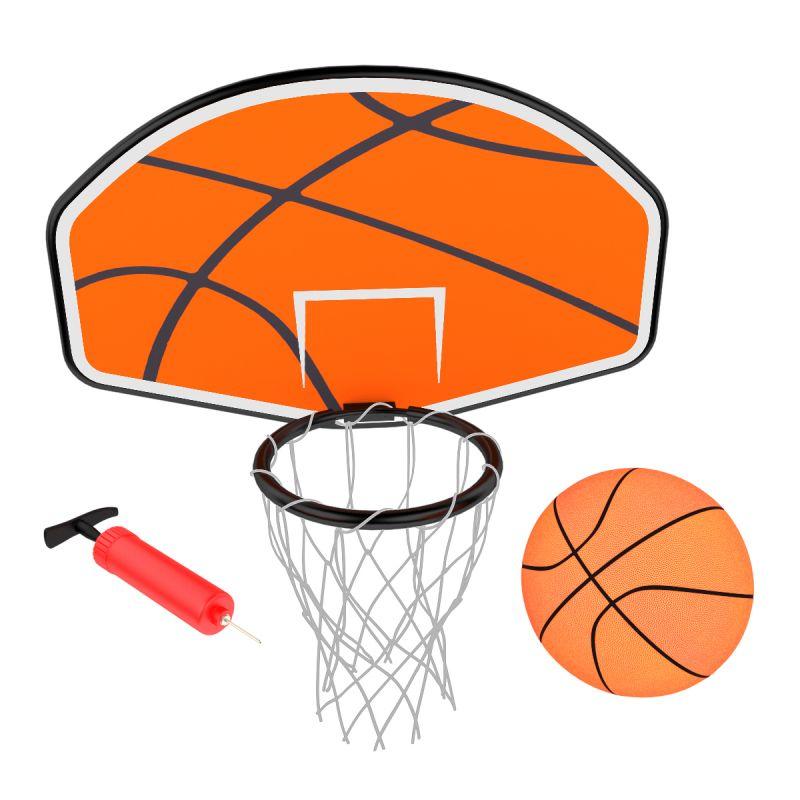 Фотография Баскетбольный щит для батута Unix line Classic/Simple  2