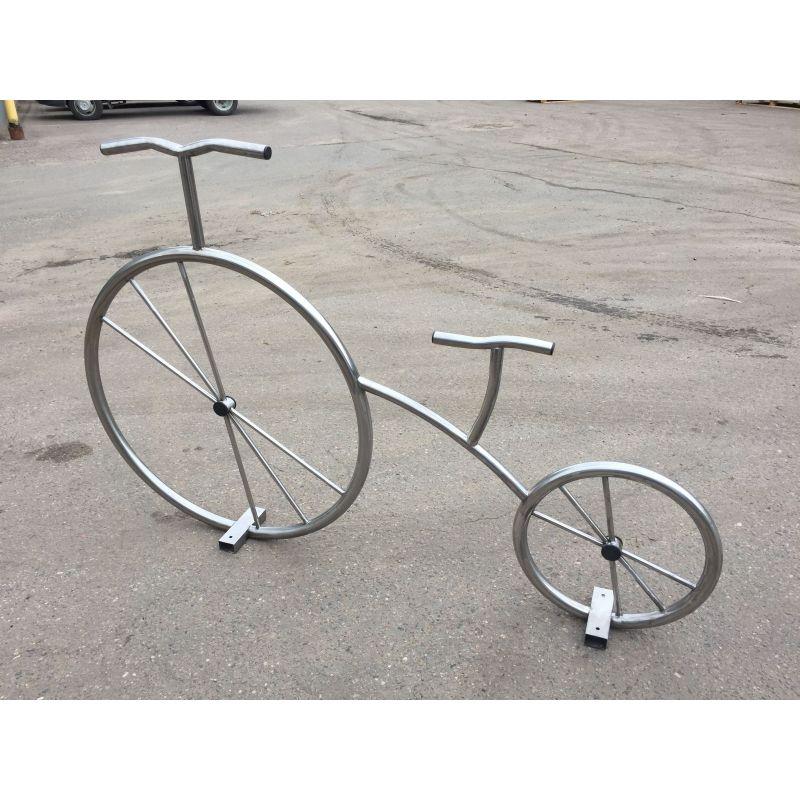 Фотография Декоративный велосипед из нержавейки 0