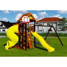 Миниатюра Деревянная детская площадка Марк турбо 1 0  мини