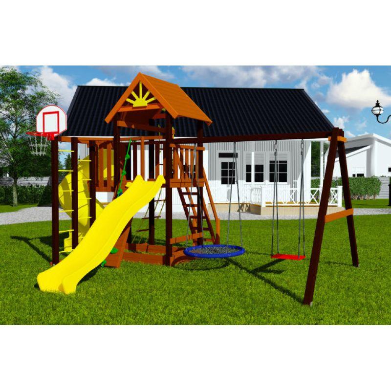 Фотография Деревянная детская площадка Марк турбо 1 1