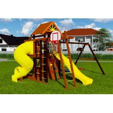 Миниатюра Деревянная детская площадка Марк турбо 3 0  мини