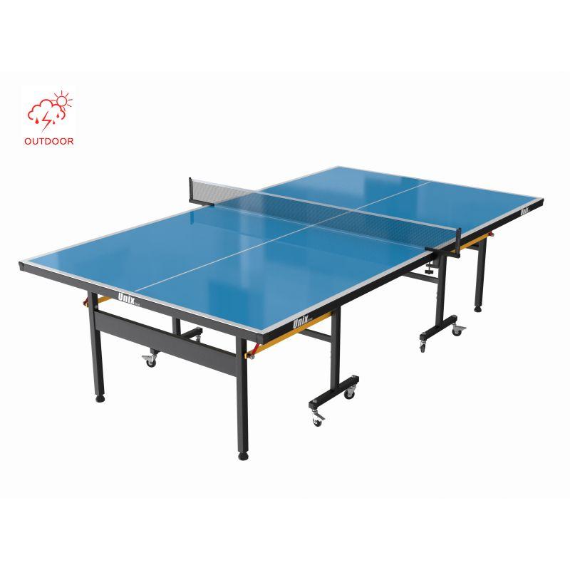 Фотография Всепогодный теннисный стол UNIX line outdoor 6mm (blue) 1
