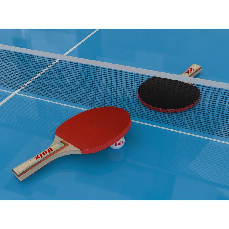 Фотография Всепогодный теннисный стол UNIX line outdoor 6mm (blue) 4