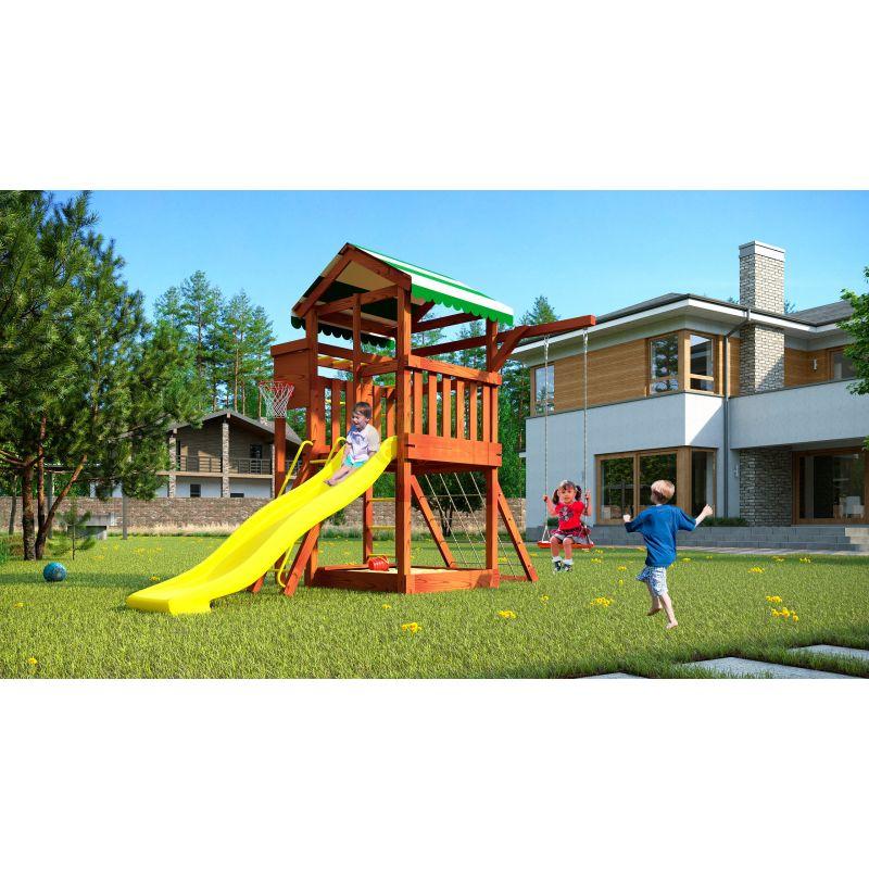 Фотография Деревянная детская площадка Савушка Хит - 1 10