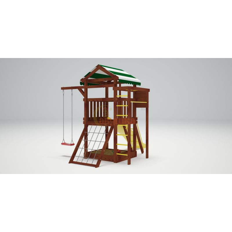 Фотография Деревянная детская площадка Савушка Хит - 1 2