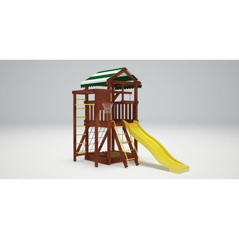 Фотография Деревянная детская площадка Савушка Хит - 1 3