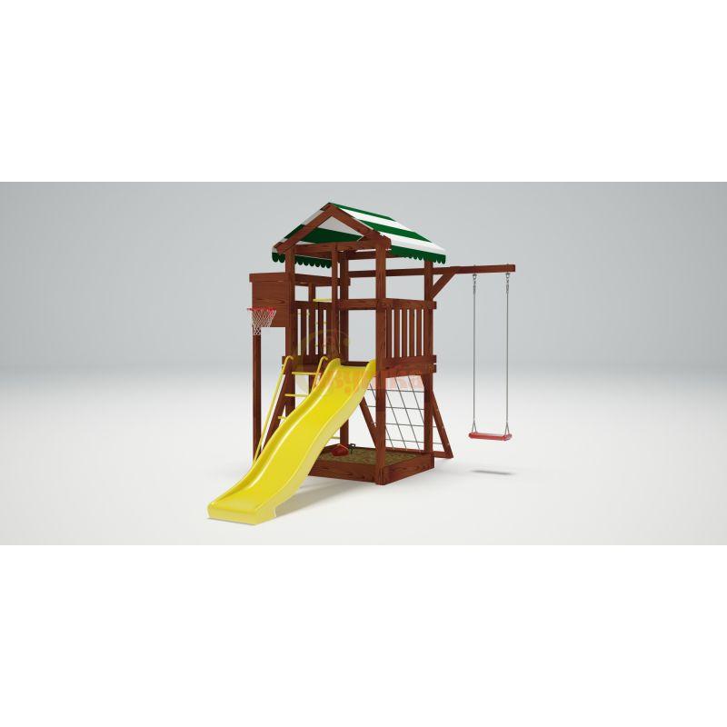 Фотография Деревянная детская площадка Савушка Хит - 1 4