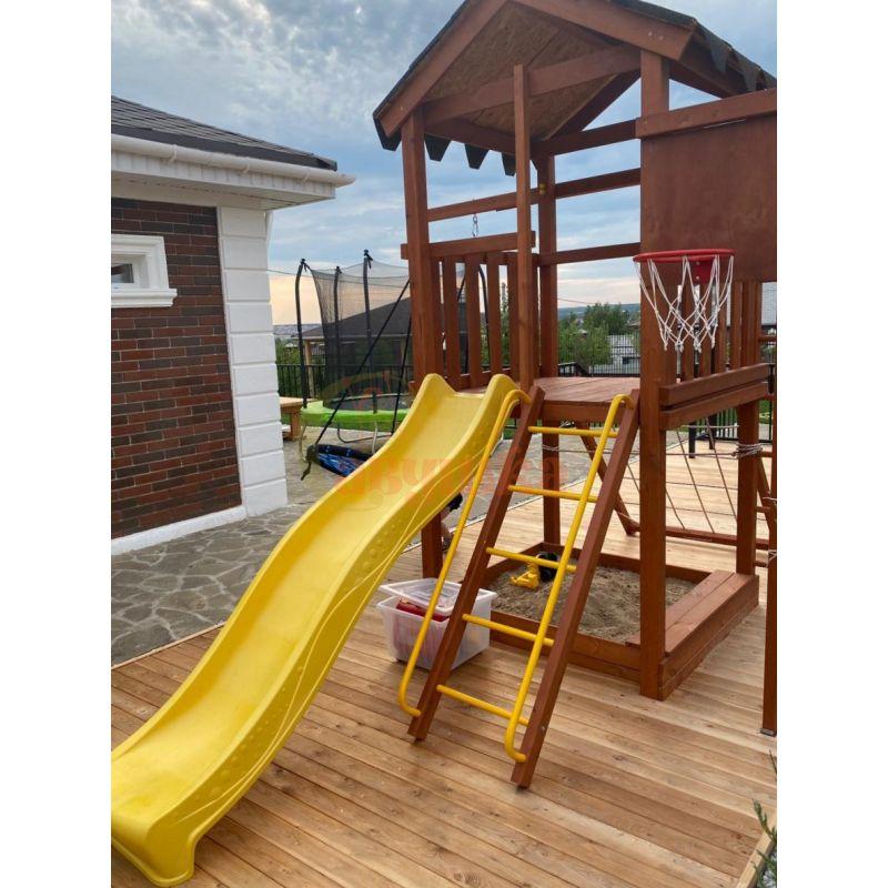 Фотография Деревянная детская площадка Савушка Хит - 1 6