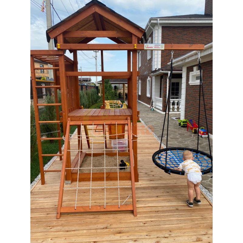 Фотография Деревянная детская площадка Савушка Хит - 1 7