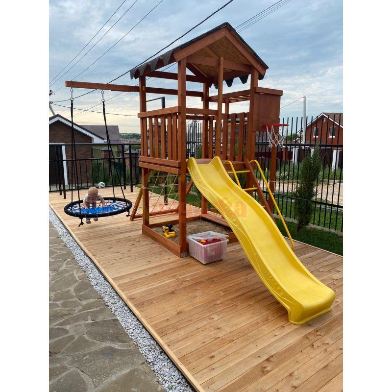 Фотография Деревянная детская площадка Савушка Хит - 1 8