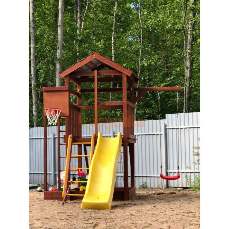 Фотография Деревянная детская площадка Савушка Хит - 1 9