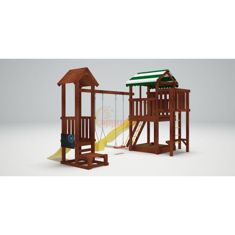 Фотография Деревянная детская площадка Савушка Хит - 4 1