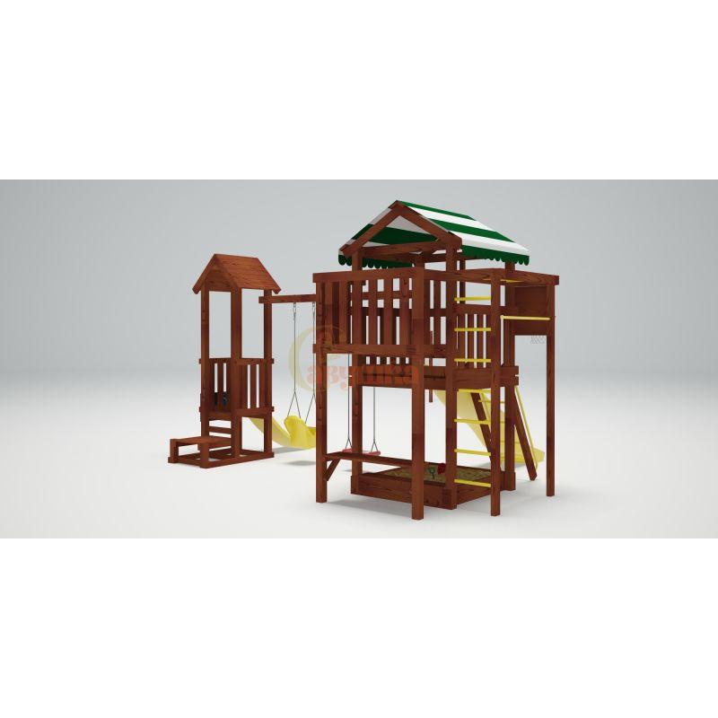 Фотография Деревянная детская площадка Савушка Хит - 4 2