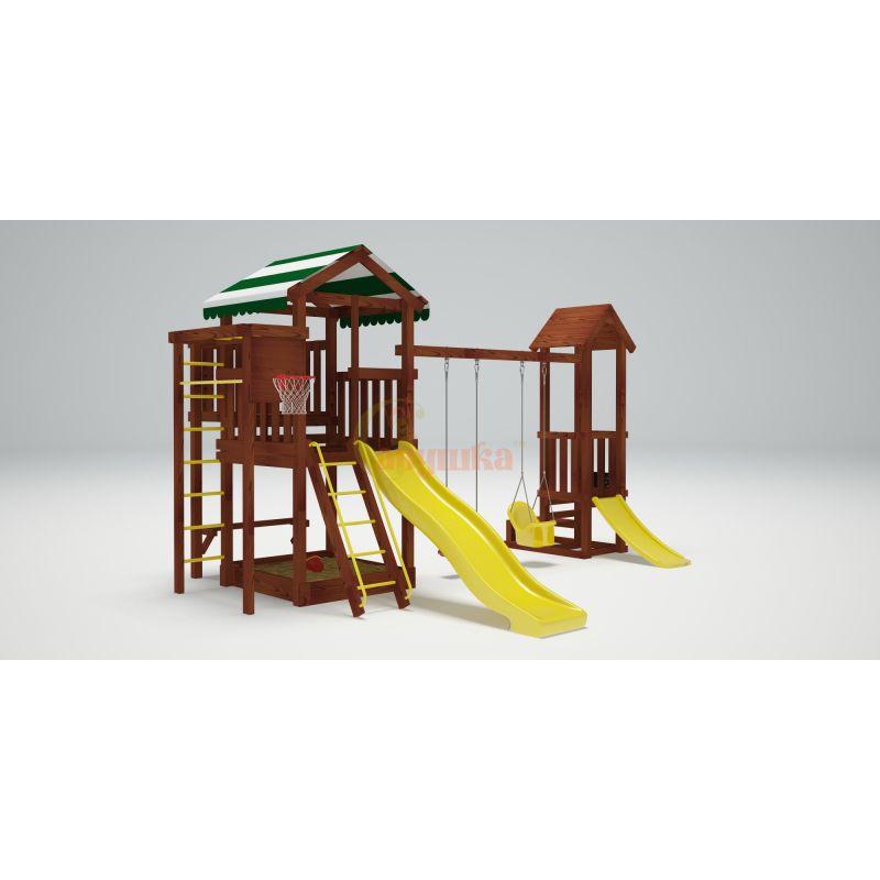 Фотография Деревянная детская площадка Савушка Хит - 4 3