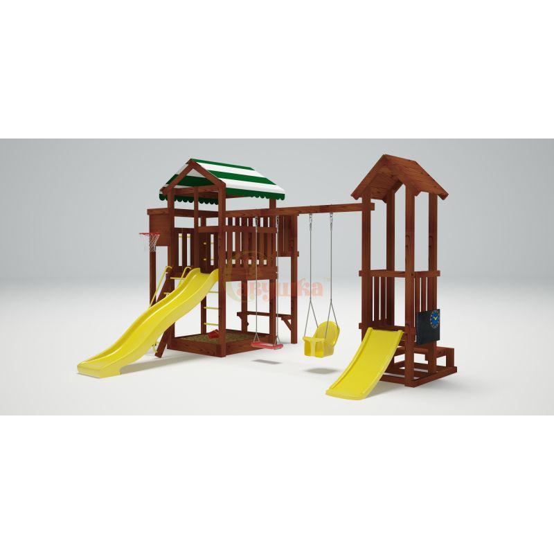 Фотография Деревянная детская площадка Савушка Хит - 4 4