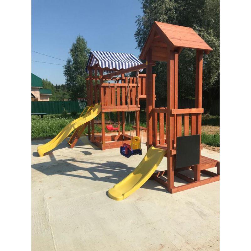 Фотография Деревянная детская площадка Савушка Хит - 4 6