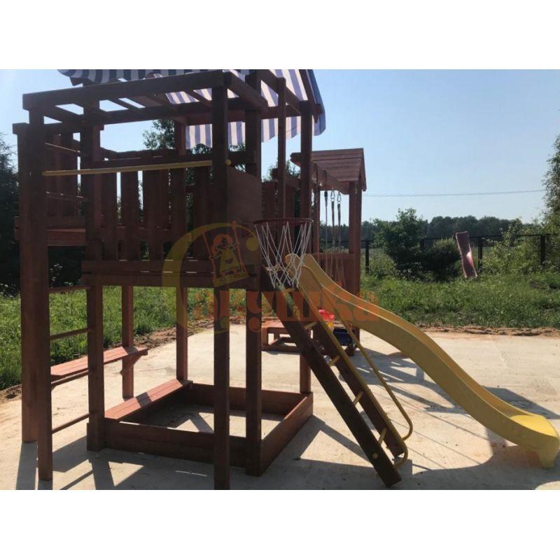 Фотография Деревянная детская площадка Савушка Хит - 4 7