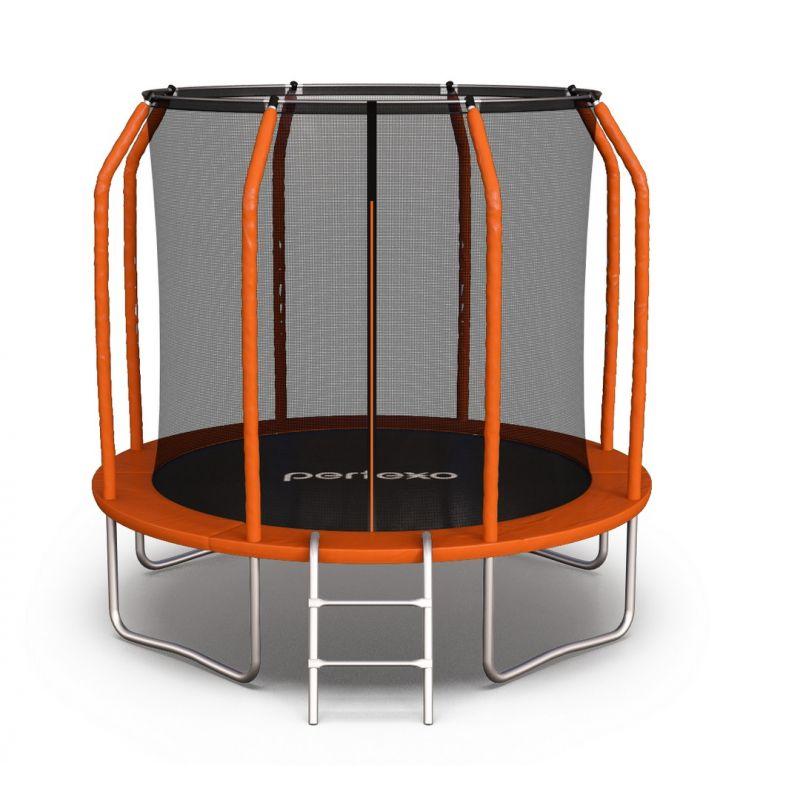 Фотография Батут Perfexo, 10FT, 305 см с внутренней сеткой и лестницей 0