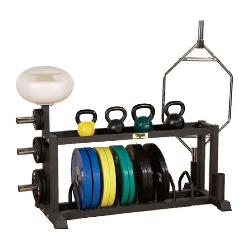 Фотография Горизонтальная стойка для фитнес-оборудования Extreme Multi-Function Storage Station 0