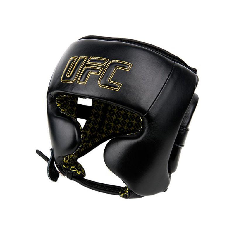 Фотография UFC Шлем с защитой щек на шнуровке 0